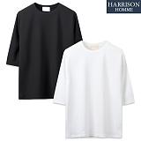 [해리슨] 총알 7부 티셔츠 MD1212