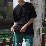 [모니즈] 브럭스턴 반팔 티셔츠 (3color) TSB118