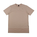 [아이넨]EINEN-Peerless O-Ring Zipper 1/2 T-Shirts Beige 반팔티