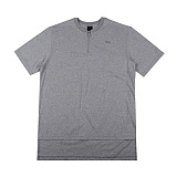 [아이넨]EINEN-Peerless O-Ring Zipper 1/2 T-Shirts Melange 반팔티