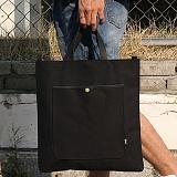 언브라운 - pastel big eco bag 토트 크로스 에코백 (black)