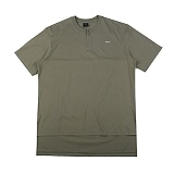 [아이넨]EINEN-Peerless O-Ring Zipper 1/2 T-Shirts Khaki 반팔티