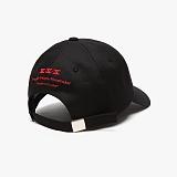 [피스메이커]PIECE MAKER - RL SIGNATURE BALL CAP (BLACK/RED) 볼캡 야구모자