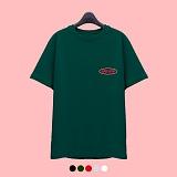 [슈퍼레이티브] superlative - [7SMH01] COLOR MIX LOGO 반팔 티셔츠 - 반팔 티셔츠 - 5컬러 반팔티 티셔츠