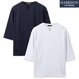 [해리슨] 기획 브이넥 7부 티셔츠 CS1299