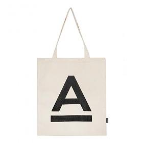 [에이비로드]ABROAD - A Logo Eco Bag (basic) 에코백 숄더백