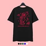 [슈퍼레이티브] superlative - [7J5028] GEISHA SAKURA 반팔 티셔츠 - 반팔 티셔츠 - 5컬러 반팔티 티셔츠