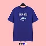 [슈퍼레이티브] superlative - [7J5026] 1 LOGO 반팔 티셔츠 - 반팔 티셔츠 - 4컬러 반팔티 티셔츠
