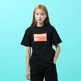 [지플랫] 리프레싱 반팔 티셔츠 (BLACK)