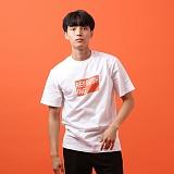 [지플랫] 리프레싱 반팔 티셔츠 (WHITE)