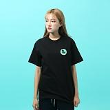 [지플랫] 파인애플 반팔 티셔츠 (BLACK)