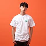 [지플랫] 파인애플 반팔 티셔츠 (WHITE)