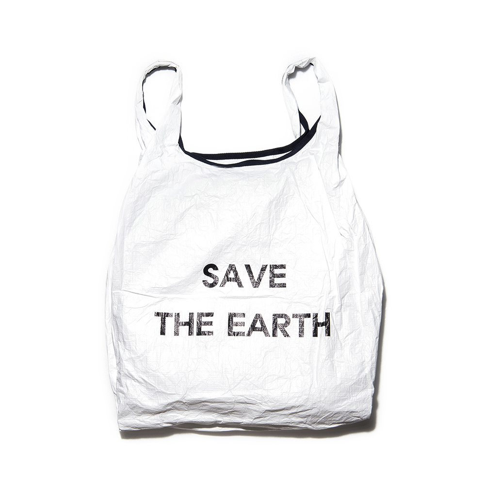 [디얼스]THE EARTH - TYVEK MARKET BAG - WHITE 마켓백