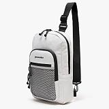 [피스메이커]PIECE MAKER - CLASSIC CORDURA SLING BAG (WHITE) 슬링백