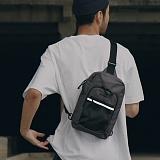[피스메이커]PIECE MAKER - CLASSIC CORDURA SLING BAG (DARK GREY) 슬링백