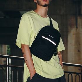[피스메이커]PIECE MAKER - CLASSIC CORDURA SLING BAG (BLACK) 슬링백