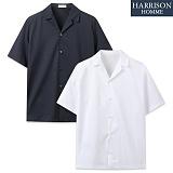 [해리슨] 기획 오픈 카라 반팔 셔츠 RTW1298