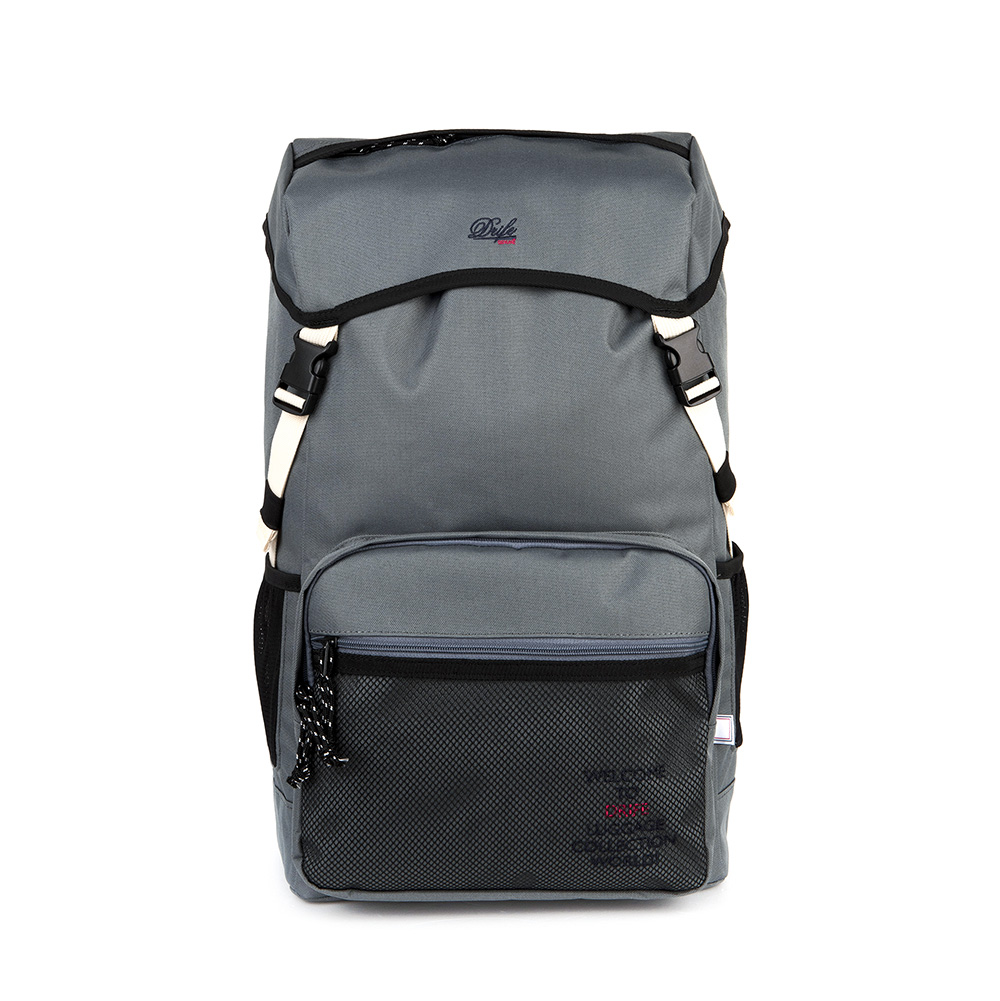 무료배송[드라이프]DRIFE - COVER BACKPACK - GREY 커버 백팩 메쉬 가방