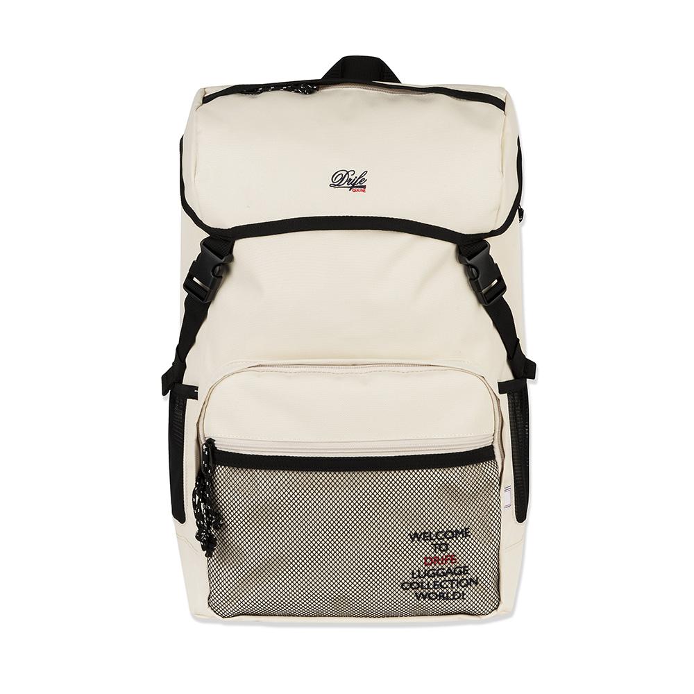 무료배송[드라이프]DRIFE - COVER BACKPACK - IVORY 커버 백팩 메쉬 가방