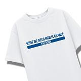 [엑스엑스아이엑스]XXIX - NEED CHANGE - 루즈핏 반팔 - 화이트