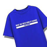 [엑스엑스아이엑스]XXIX - NEED CHANGE - 루즈핏 반팔 - 블루