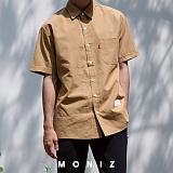 [모니즈] 댄디 체크 반팔 셔츠 (4color) SHT617