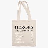 [피스메이커]PIECE MAKER - HEROES TRACK LIST ECO BAG (WHITE) 에코백