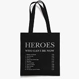 [피스메이커]PIECE MAKER - HEROES TRACK LIST ECO BAG (BLACK) 에코백