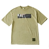 [언클락와이즘]unclockwism front printing short sleeve T-shirt 02(beige) 반팔티 티셔츠