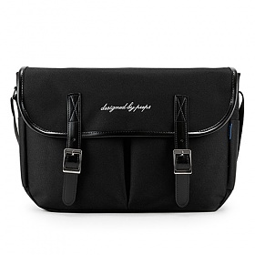 [핍스] PEEPS hipster messenger bag(black)