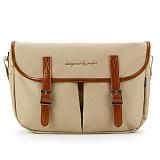 [핍스] PEEPS hipster messenger bag(beige)