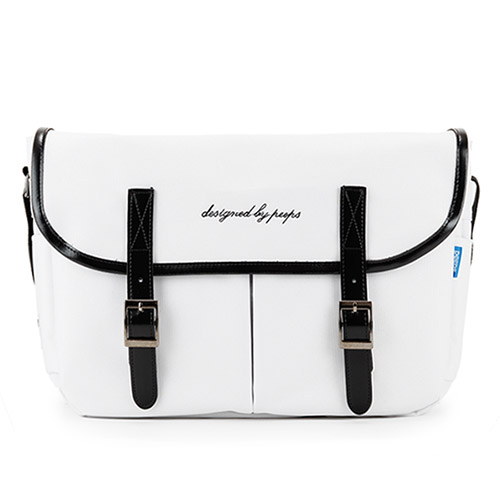 [핍스] PEEPS hipster messenger bag(white)