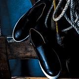 [비에스큐티바이클래시]BSQT by Classy - 185 베이직 키높이 슬립온 매트블랙(MATT BLACK)