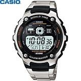 [카시오] CASIO 10년전지 AE-2000WD-1A 남성 메탈 전자시계
