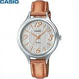 [카시오] CASIO LTP-1393L-7A2V 여성 가죽시계