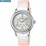 [카시오] CASIO LTP-E113L-4A2D 여성 가죽시계