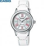[카시오] CASIO LTP-E113L-7A 여성 가죽시계