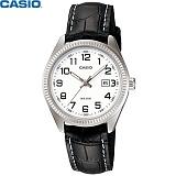 [카시오] CASIO LTP-1302L-7B 여성 가죽시계