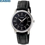 [카시오] CASIO LTP-1303L-1A 여성 가죽시계