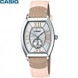 [카시오] CASIO LTP-E114L-4A2D 여성 가죽시계