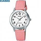 [카시오] CASIO LTP-1390LB-7B2D 여성 가죽시계