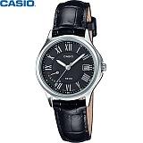 [카시오] CASIO LTP-E116L-1A 여성 가죽시계