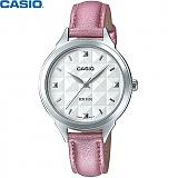 [카시오] CASIO LTP-1392L-4A 여성 가죽시계