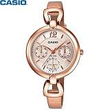 [카시오] CASIO LTP-E401PL-9A 여성 가죽시계