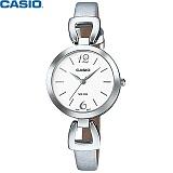 [카시오] CASIO LTP-E402L-7A 여성 가죽시계