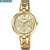 [카시오] CASIO LTP-E401G-9A 여성 금장 메탈시계