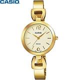 [카시오] CASIO LTP-E402G-9A 여성 금장 메탈시계