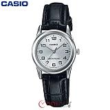 [카시오] CASIO LTP-V001L-7B 여성 가죽시계