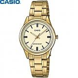 [카시오] CASIO LTP-V005G-9A 여성 금장 메탈시계