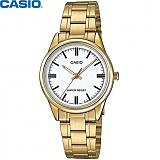 [카시오] CASIO LTP-V005G-7A 여성 금장 메탈시계